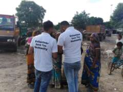 Survey of poors by save the humanity