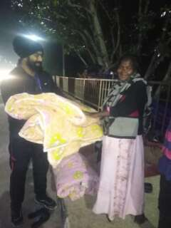 blankets for needy