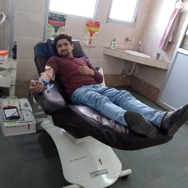 save the humanity blood donate