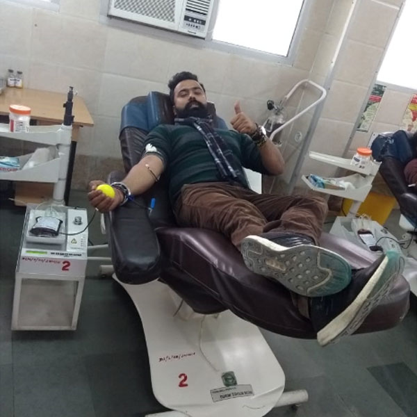 save the humanity blood donation