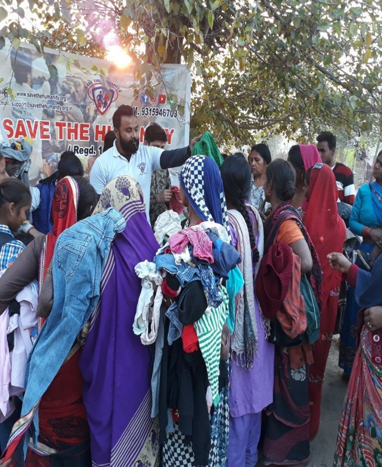 save the humanity donate for clothes