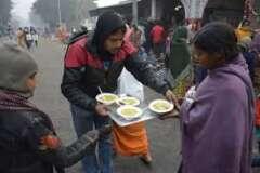 save the humanity meal distribution