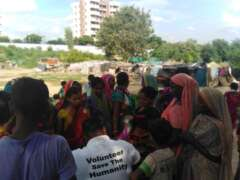 save the humanity slum area