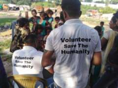 survey by save the humanity volunteers